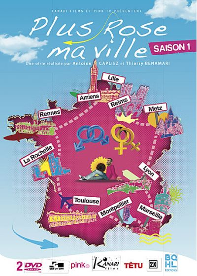 Plus rose ma ville - Saison 1 - DVD