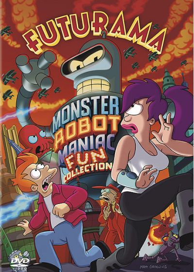 Futurama - Monster Robot Maniac Fun Collection - DVD