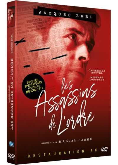 Les Assassins de l'ordre (Version restaurée 4K) - DVD