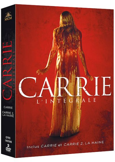 Carrie - L'intégrale : Carrie + Carrie 2 : La haine - DVD
