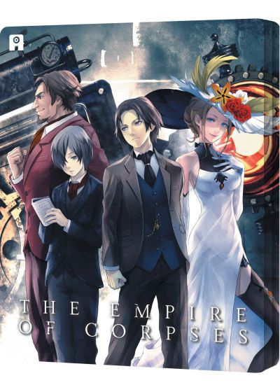 Project Itoh : The Empire of Corpses (Combo Blu-ray + DVD - Édition Collector boîtier SteelBook) - Blu-ray