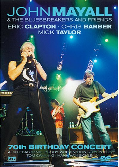 Mayall, John & The Bluesbreakers and Friends - 70th Birthday Concert - DVD