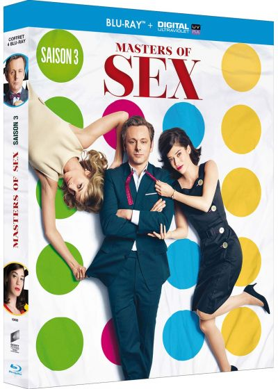 Masters of Sex - Intégrale saison 3 (Blu-ray + Copie digitale) - Blu-ray