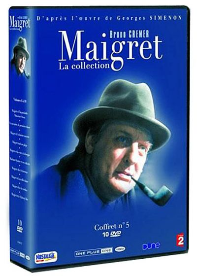 Maigret - La collection - Coffret 10 DVD (Vol. 21 à 25) - DVD