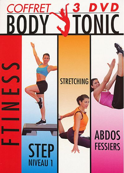 Body Tonic Fitness : Coffret 3 DVD (Pack) - DVD