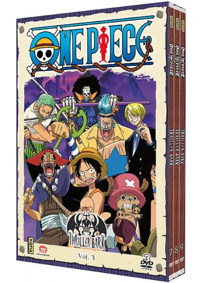 One Piece - Thriller Bark - Coffret 3 - DVD