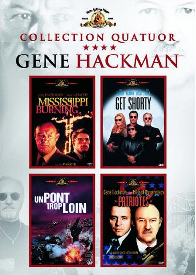 Gene Hackman - Coffret - Mississippi Burning + Get Shorty + Un pont trop loin + Patriotes - DVD