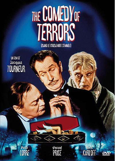 The Comedy of Terrors (Quand le croque-mort s'en mêle) - DVD