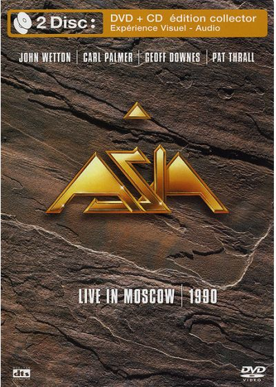Asia - Live In Moscow 1990 (+ 1 CD Audio) - DVD