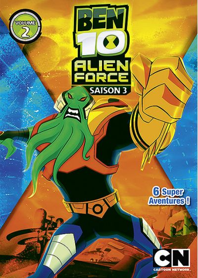 Ben 10 Alien Force - Saison 3 - Volume 2 - DVD