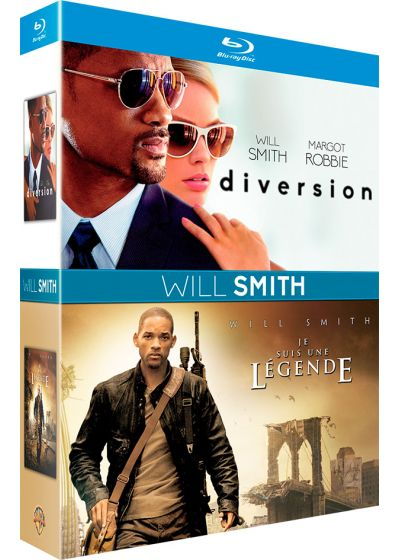 Will Smith : Diversion + Je suis une légende (Blu-ray + Copie digitale) - Blu-ray