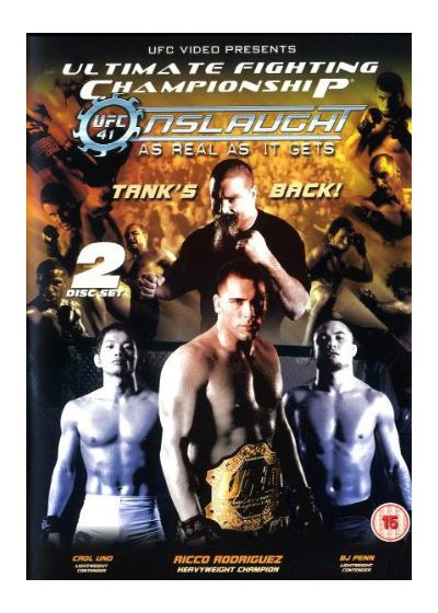 UFC 41 : Onslaught - DVD