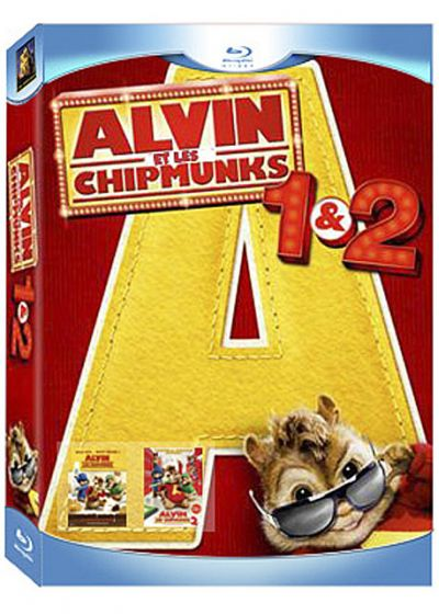 Alvin et les Chipmunks 1 & 2 (Pack) - Blu-ray