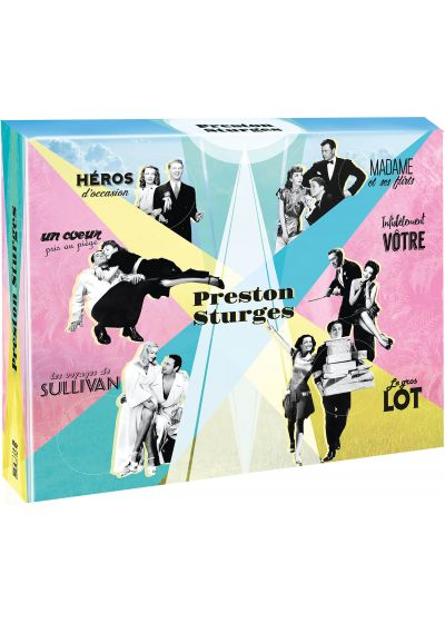 Preston Sturges : King of Comedy (Édition Collector Blu-ray + DVD + Livre) - Blu-ray