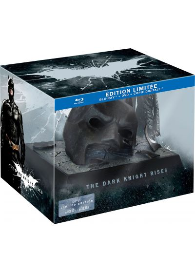 Batman - The Dark Knight Rises (Édition limitée masque Batman - Blu-ray + DVD + Copie digitale) - Blu-ray
