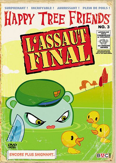 Happy Tree Friends - Saison 1, Vol. 3 : L'assaut final - DVD