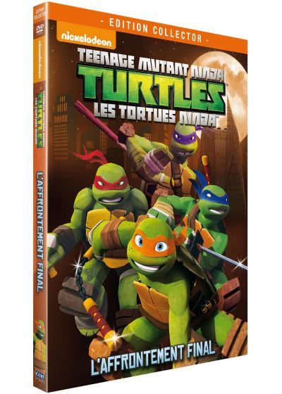 Les Tortues Ninja - Vol. 4 : L'affrontement final (Édition Collector Limitée) - DVD