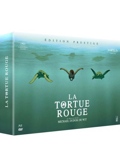 La Tortue rouge (Coffret Prestige - Blu-ray + DVD + Art Book + CD bande originale) - Blu-ray