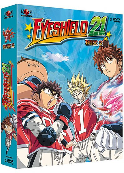 Eyeshield 21 - Saison 1 - Box 2/4 (Édition VF) - DVD