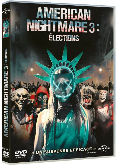 American Nightmare 3 : Élections (DVD + Copie digitale) - DVD