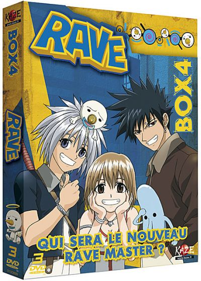 Rave Master - Box 4/4 - DVD