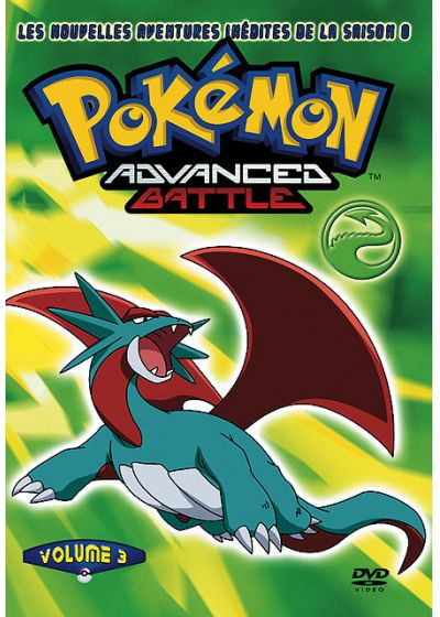 Pokemon Advanced Battle - Saison 8 n°3 (Édition Collector) - DVD