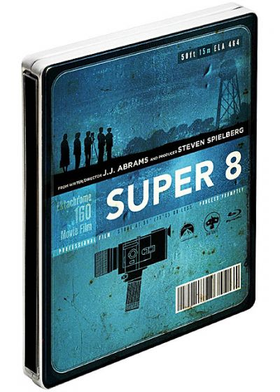 Super 8 (Combo Blu-ray + DVD - Édition Limitée exclusive Amazon.fr boîtier SteelBook) - Blu-ray
