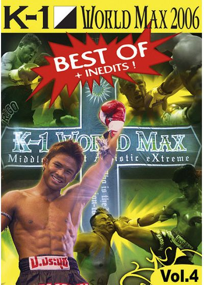 K-1 World Max 2006 - Best of - Vol. 4 - DVD