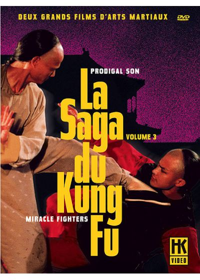 La Saga du Kung Fu Vol. 3 : Prodigal Son & Miracle Fighters (Pack) - DVD