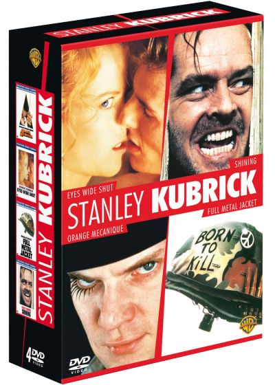 Stanley Kubrick - Coffret - Eyes Wide Shut + Shining + Orange mécanique + Full Metal Jacket (Pack) - DVD