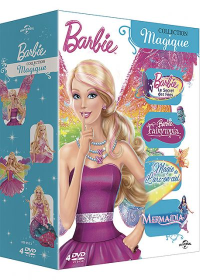 Barbie - Collection Princesse (Pack) - DVD
