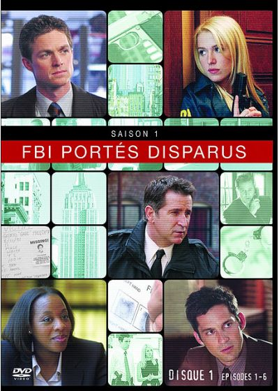 FBI portés disparus - Saison 1 - DVD test - DVD