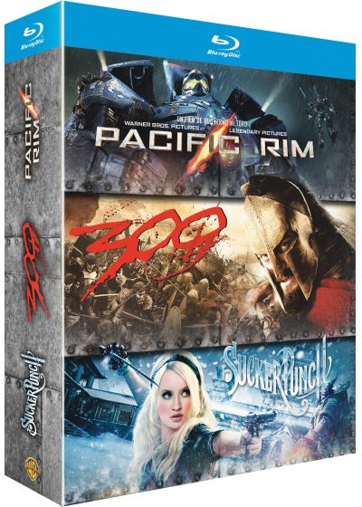 Pacific Rim + Sucker Punch + 300 (Blu-ray + Copie digitale) - Blu-ray