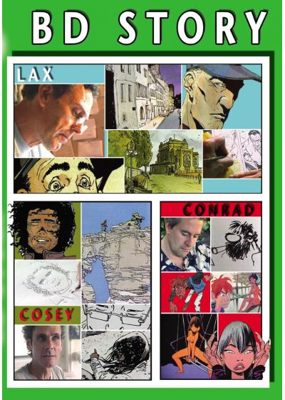 BD Story N°5 : Lax - Conrad - Cossey - DVD