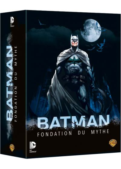 Batman Fondation du mythe : The Dark Knight 1 & 2 + Year One + The Killing Joke (Pack) - DVD