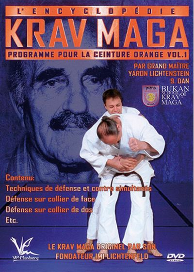 L'Encyclopédie du Krav Maga : programme ceinture orange - Vol. 1 - DVD