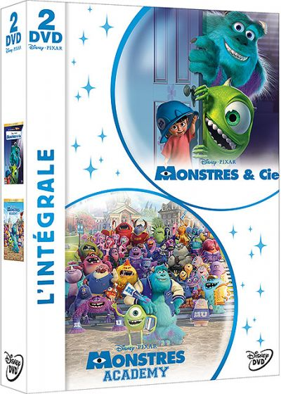 Monstres & Cie + Monstres Academy - DVD