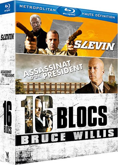 Bruce Willis - Coffret 3 films (Pack) - Blu-ray