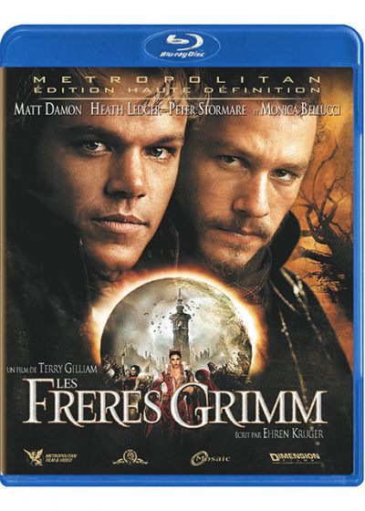 Les Frères Grimm - Blu-ray