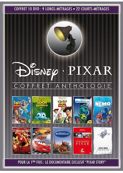 Coffret Collection Pixar - 10 DVD - DVD