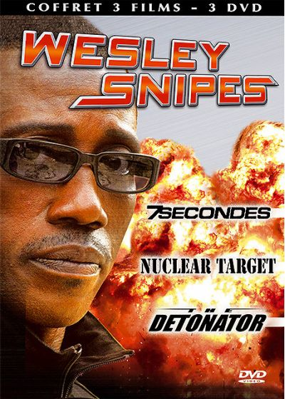 Wesley Snipes - Coffret - 7 Secondes + Nuclear Target + The Detonator (Pack) - DVD