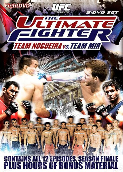 UFC : The Ultimate Fighter 8 - Team Nogueira vs Team Mir - DVD