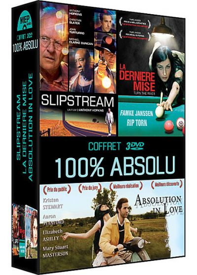 Coffret 100% Absolu : Slipstream + La dernière mise + Absolution in Love (Pack) - DVD