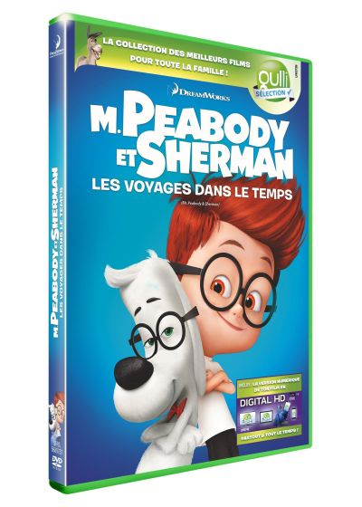 M. Peabody et Sherman (DVD + Digital HD) - DVD