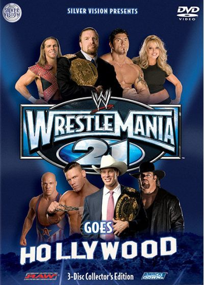 WrestleMania 21 Goes To Hollywood - DVD