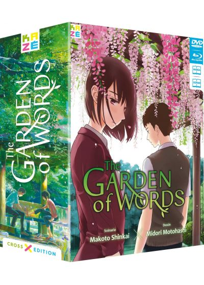 Garden of Words (Cross Edition Blu-ray + Manga) - Blu-ray