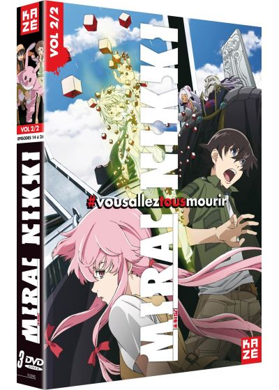 Mirai Nikki - The Future Diary - Box 2/2 - DVD