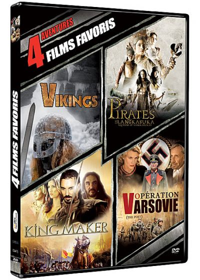 4 films favoris : Aventures (Pack) - DVD