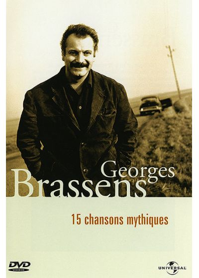 Georges Brassens - 15 chansons mythiques - DVD