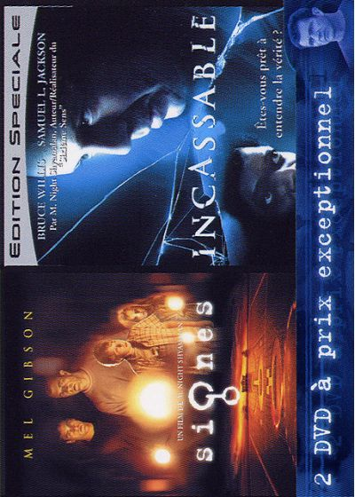 Signes + Incassable (Pack) - DVD